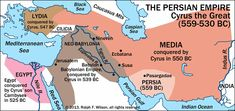 Persian Empire under Cyrus the Great (559-530 BC). Mystery of History Volume 1, Lesson 66 #MOHI66
