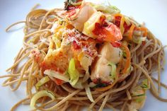 Recipe for Delicious: Lobster Pasta with Champagne Dill Cream Sauce