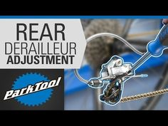 (4) How to Adjust a Rear Derailleur – Limit Screws & Indexing - YouTube