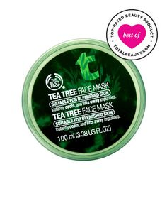 Best Face Mask No. 10: The Body Shop Tea Tree Clearing Clay Mask, $17