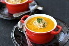 Roasted Sweet Potato Quinoa Soup