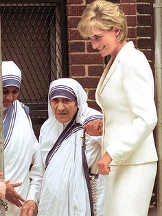 "SISTERS IN CHARITY  Mother Teresa and Diana – both active champions for human rights – met on June 18, 1997, at the Missionaries of Charity in the south Bronx. ""Diana is my daughter,"" the nun often said."