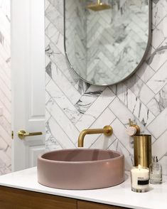 Time to soak in the tub after a massive few days of Christmas parties, huge days in the shops and even larger headaches! It's certainly hot… Bathroom Niche, Modern Bathroom, Small Bathroom, Contemporary Bathrooms, Carrara Marble Bathroom, Marble Tiles, Craftsman Bathroom, Small Bathtub, Small Toilet