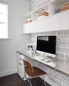 modern and compact home office