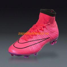 El mas barato Zapatos de Futbol Nike Mercurial Superfly FG Hyper Rosa Negro  Black Lightning 51fd12135d11a