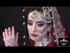 Real Bridal makeup and hair by Sadaf Wassan - YouTube