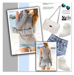 """SheIn"" by janee-oss ❤ liked on Polyvore featuring mode, Sheinside en polyvoreeditorial"