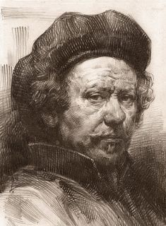 Rembrandt Portrait 2 Canvas Print / Canvas Art by Behzad Sohrabi Rembrandt Portrait 2 Leinwanddruck / Leinwandbild von Behzad Sohrabi Rembrandt Self Portrait, Rembrandt Art, Rembrandt Drawings, Rembrandt Paintings, Portrait Paintings, Portrait Art, Rembrandt Etchings, Portrait Au Crayon, Pencil Portrait