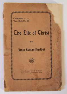 Vintage 1882 Life of Christ Book by Jesse by VintageAntiqueEtsy