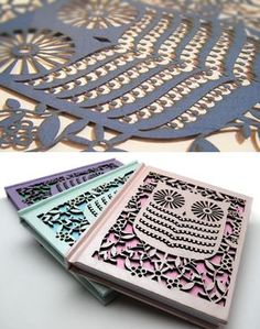 My Owl Barn: Alljoy Designs: Laser-Cut Cards and Notebooks