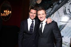 Tom Cruise and Jeremy Renner.