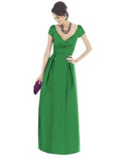 Pretty dress! (love this neckline!)  For anytime or even a lovely bridesmaid dress!