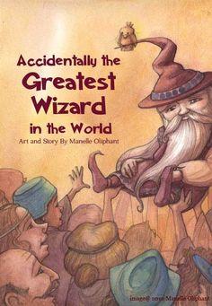 Manelle Oliphant Illustration Wizard Melwick page 1 - Manelle Oliphant Illustration