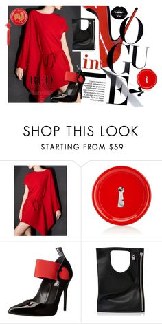 """""""Untitled #352"""" by misslulu1976 ❤ liked on Polyvore featuring Fornasetti, Love Moschino, Alix and Harrods"""