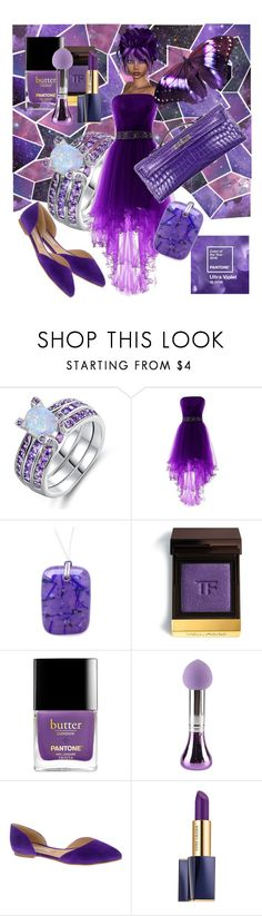Ultra Violet Pantone Colour of the Year, by Inspiration for this gorgeous on - trend colour. Chinese Laundry, Color Of The Year, Pantone Color, Ultra Violet, Color Trends, Tom Ford, Perfume Bottles, Polyvore, Beauty