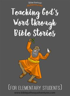 Bible stories, lesson plans, and activities for elementary students Preschool Bible, Bible Activities, Bible Games, Children's Bible, Bible Truth, Kids Church Lessons, Bible Lessons For Kids, Bible Object Lessons, Bible Stories For Kids