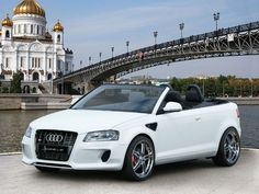Audi A3 Cabriolet White