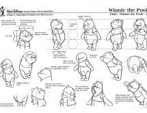 Winnie the Pooh Model Sheet 1