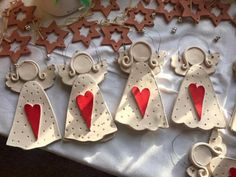 Newest Absolutely Free clay pottery inspiration Thoughts Atemberaubendes %% KEYWORD %% – Töpfern – # Christmas Clay, Christmas Angels, Christmas Ornaments, Angel Crafts, Holiday Crafts, Clay Angel, Pottery Angels, Pottery Store, Polymer Clay Ornaments