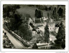 Bourmont - CP - LE PAILY (52) Vue aérienne le chateau