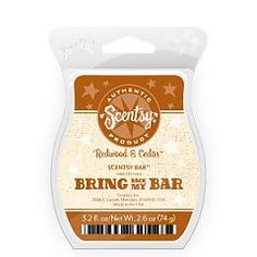 Redwood & Cedar Scentsy bar        small      small_sb-rwc.jpg    Share your favorite Scentsy products  0     0     0  Email  New  Share    DISCONTINUED    A fresh scent with texture, warmth, and sensuality reminiscent of a cedar closet.    Bring Back My Bar fragrances will be available as Scentsy Bars only for the month of January.    SKU:      SB-RWC