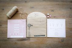 Rustic farm style wedding invitations in coral, beige and brown Invite, Wedding Invitations, Stationery, Coral, Beige, Rustic, Brown, Ideas, Style