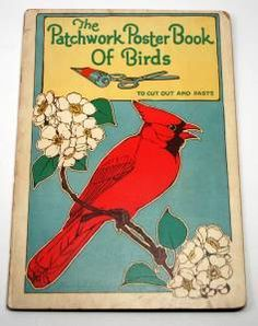 The Patchwork Poster Book Of Birds By Helene Nyce 1927 Hardcover Complete