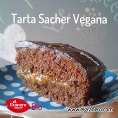 RECETA: Tarta Sacher Vegana. granero integral