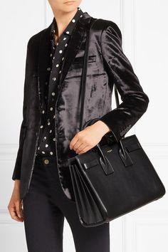 Saint Laurent | Sac De Jour small leather tote | NET-A-PORTER.COM