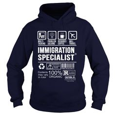 IMMIGRATION SPECIALIST Multi Tasking Problem Solving T-Shirts, Hoodies. Get It Now ==> https://www.sunfrog.com/LifeStyle/IMMIGRATION-SPECIALIST--Multi-tasking-Navy-Blue-Hoodie.html?41382