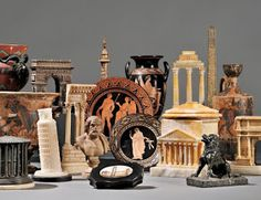 Decorating With Grand Tour Souvenirs - decoration,wood,wood working,furniture,decorating