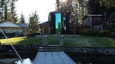 Mason Lake, WA. Cabin by Franchini Design Group.
