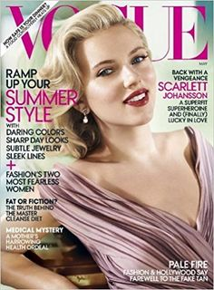 Scarlett Johansson cover on ''VOGUE'' magazine issue May 2012.