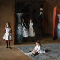 John Singer Sargent. The daughters of Edward Darley Boit.