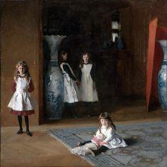 John Singer Sargent. The daughters of Edward Darley Boit.