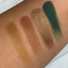 Midas Cosmetics Green Tea Macchiato Quad Eyeshadow Palette