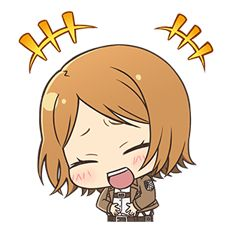 Attack on Titan Chimi-Chara Ver. - Official Stickers