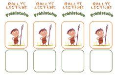 Rallye lecture Préhistorique CE1-CE2-CM1 - Le jardin d'Alysse