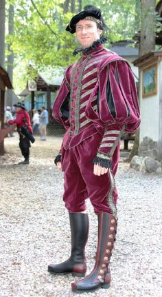 Maryland Renaissance Festival. Note: the color and fabric similar to the fabric in the hallway @ MP CS.