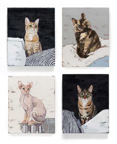 pet portraits by Ali Gibbons