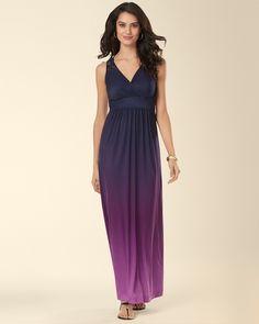 Sleeveless Surplice Crochet Lace Maxi Dress from Soma Intimates on Catalog  Spree Ombre Maxi Dress 327dd2943