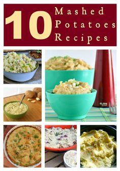 10 Mashed Potatoes Recipes