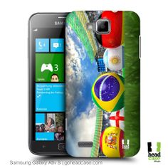 Show your love for Football this 2014 with Head Case Designs Football Countries Design back case for Samsung Ativ SI8750