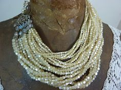 Reserved for Sandy21 STRANDS OF LUCIOUS Pearls by PennysCastle, $75.00