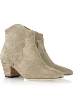 Isabel Marant|Dicker suede ankle boots|NET-A-PORTER.COM