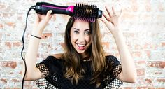 We tried Revlon's One-Step Hairdryer! If you're into quick and easy volume, read…