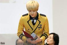 #EXO #SEHUN #Seoul Performing Arts School Sehunnie.. Our boy has grown))