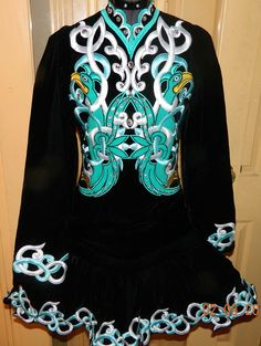 Lewis Irish Dance Solo Dress Costume