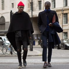 Snapped during London Fashion Week with my partner in crime @sachamass ~ from @pause_online