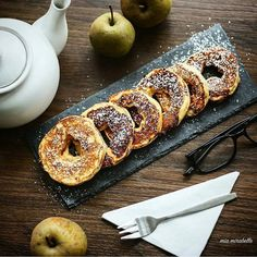 Apfel-Zimt-Ringe von @mia.mirabelle mit Puder-Xucker